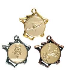 Médaille 75mm avec Pastille - 8469