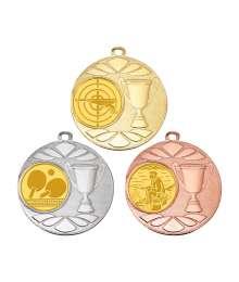 Médaille 50mm avec Pastille - B-8239