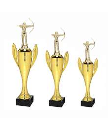 Trophée Sport Tir à l'arc Femme B-X721.01S.D69 - B-X722.01S.D69 - B-X723.01S.D69