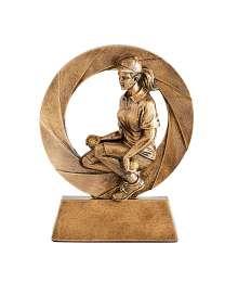 Trophées Résine Pétanque Femme 4794