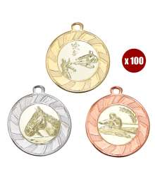 Pack de 100 Médailles 8230 ø40mm