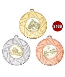 Pack de 100 Médailles 8241 ø50mm
