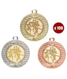 Pack de 100 Médailles 8234 ø40mm