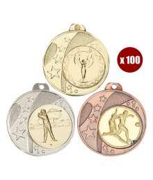 Pack de 100 Médailles 8235 ø40mm