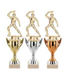 Trophees TENNIS DE TABLE T-3852.S - T-3853.S - T-3854.S