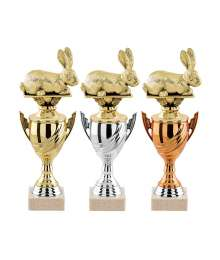 Trophees LAPIN T-4798 - T-4799 - T-4800