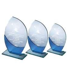 Trophées Création Verre et Jade 6523 - 6524 - 6525