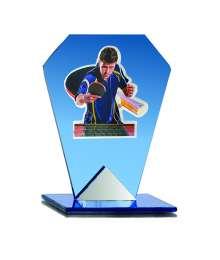 Trophées Verre TENNIS DE TABLE 4006 MJ