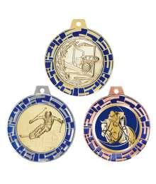 Médaille 70mm avec Pastille - 8548