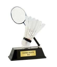 Trophée Acrylique BADMINTON - PN016