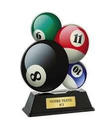 Trophée Acrylique BILLARD - PN051