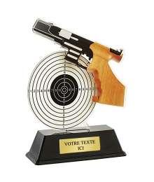 Trophée Acrylique TIR PISTOLET - PN057