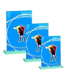 Trophées Verre ARBITRE 4018 MJ - 4019 MJ - 4020 MJ