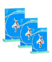 Trophées Verre DANSE 4018 MJ - 4019 MJ - 4020 MJ