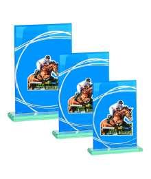 Trophées Verre EQUITATION 4018 MJ - 4019 MJ - 4020 MJ