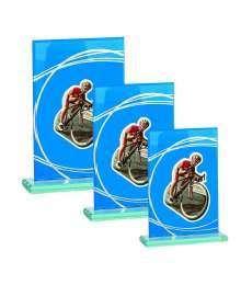 Trophées Verre CYCLISME 4018 MJ - 4019 MJ - 4020 MJ