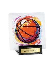 Trophée Sublimation Basket 4301