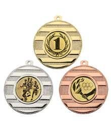 Médaille 50mm avec Pastille - 8338