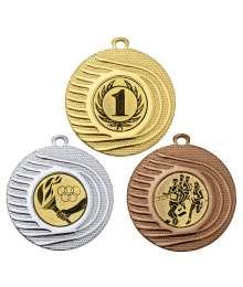 Médaille 50mm avec Pastille - 8339