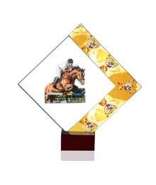 Trophées Verre EQUITATION SAUT 4024 MJ