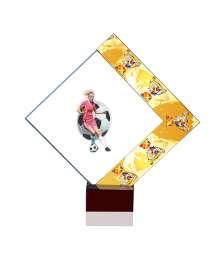 Trophées Verre FOOTBALL FEMME 4024 MJ