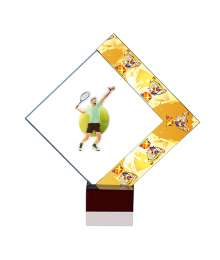 Trophées Verre TENNIS HOMME 4024 MJ