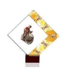 Trophées Verre CYCLISME 4024 MJ