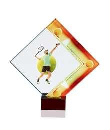 Trophées Verre TENNIS 4124 MJ