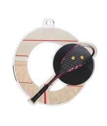 Médaille Acrylique 50mm Squash - MDA0010M19