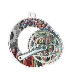 Médaille Acrylique 50mm Cyclisme - MDA0010M20