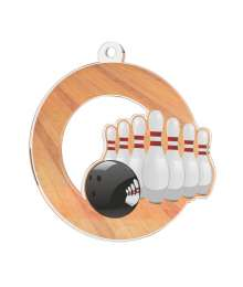 Médaille Acrylique 50mm Bowling - MDA0010M32