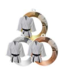 Médaille Acrylique 50mm Judo- MDA - M83