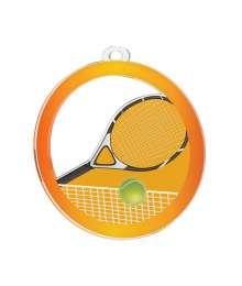 Médaille Acrylique 50mm Tennis - MDA0020M54