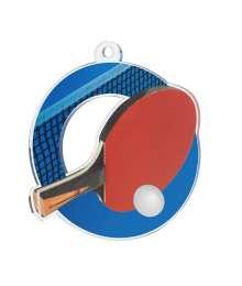 Médaille Acrylique 50mm Tennis de Table - MDA0010M5
