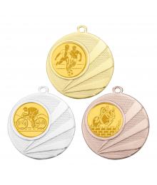 Médaille 50mm avec Pastille Football - B-8341
