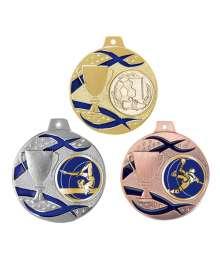 Médaille 50mm avec Pastille Football - F-079