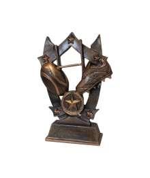 Trophée Résine Rugby 4984