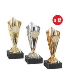 Lots de coupes 1007 - 1008 - 1009 par 12