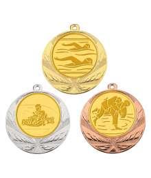 Médaille 70mm avec Pastille - 8540
