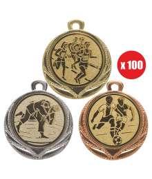 Pack de 100 Médailles 8231 ø32mm