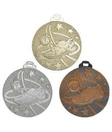 Médaille Frappée 50mm Course à pied - 7937