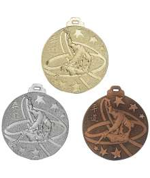 Médaille Frappée 50mm Judo - F-NY07