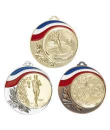 Médaille 70mm avec Pastille - 8634