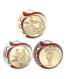 Médaille 70mm avec Pastille - 8631