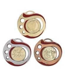Médaille 50mm avec Pastille - 8632