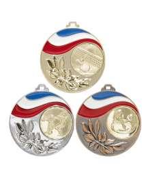 Médaille 50mm avec Pastille - 8633