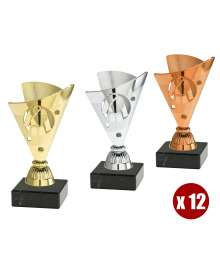 Lot de coupes CP251 par 12 JUDO