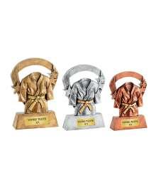 Trophées Résine Judo T-RS3444 - T-RS3445 - T-RS3446