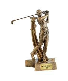 Trophées Résine Golf T-RS3428