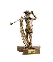 Trophées Résine Golf T-RS3427